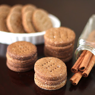 Healthy Homemade Gluten-Free Graham Crackers (low sugar, low fat).