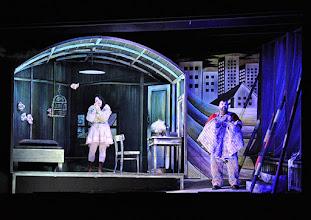 Photo: Salzburger Osterfestspiele 2015: I PAGLIACCI. Premiere 28.3.2015, Inszenierung: Philipp Stölzl. Maria Agresta. Dimitri Platanias. Copyright: Barbara Zeininger