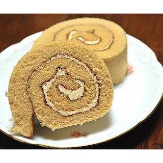 Mocha Cake Roll