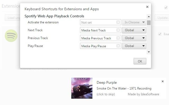 Spotify Hotkeys, Controls & Notifications