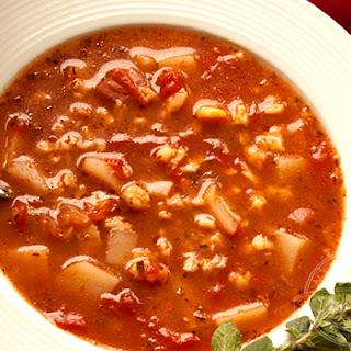 Italian Clam Soup.
