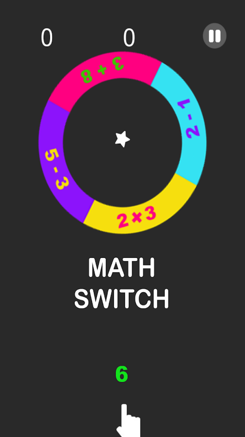 Math Switch- screenshot
