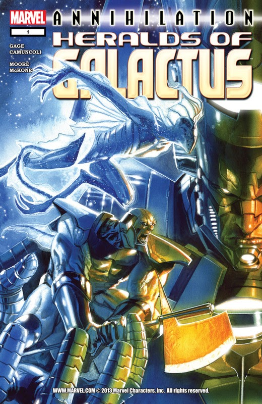 Annihilation: Heralds of Galactus (2007) - complete