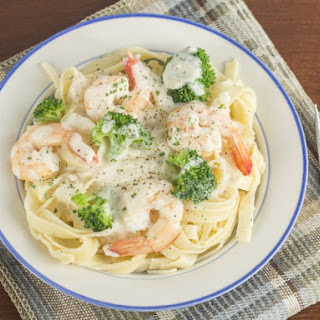 Shrimp Broccoli Alfredo Pasta Recipes