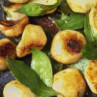 SautéEd Jerusalem Artichokes with Garlic and Bay Leaves Recipe