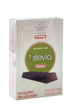 //Chocolatina Torras   Stevia Negro Frutos Bosque Sin Azucares X35G.
