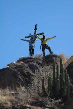 Photo: Participantes en una de las cruces patronales Huanca / 18 y 19 de Noviembre (2012) Caylloma