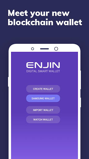 Image of Enjin: Bitcoin, Ethereum, Blockchain Crypto Wallet 1.6.3-r 1