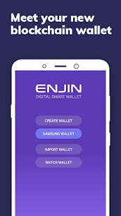 Enjin: Bitcoin, Ethereum, Blockchain Crypto Wallet App Latest Version Download For Android and iPhone 1