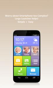 Large Launcher - Big Font,Icon v2.4.0