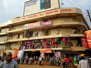 Photo: Kampala - Luwum Street near New Taxi Park
