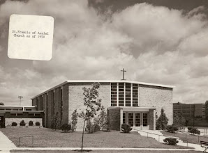 Photo: 1958 St. Francis' 2nd church site, now the School gymnasium