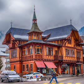 by Pravine Chester - Buildings & Architecture Homes ( swiss, home, building, cottage, switzerland )