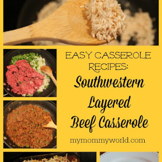 Southwest Layered Beef Casserole
