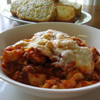 Venison Tortellini Lasagna