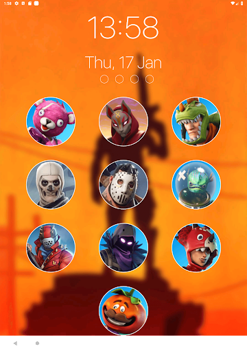Lock Screen Wallpapers For Battle Royale Fort Mobstery