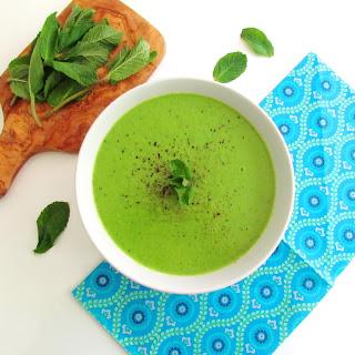 Mint Pea Soup.