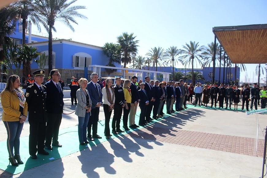 Acto institucional del Día Europeo del 112 organizado por la Junta de Andalucía en Almería.