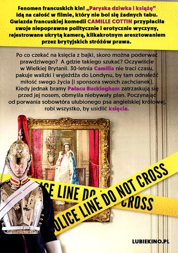 Tył ulotki filmu 'Paryska Dziwka i Książę'
