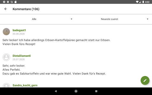Chefkoch - Rezepte & Kochen  screenshots 17