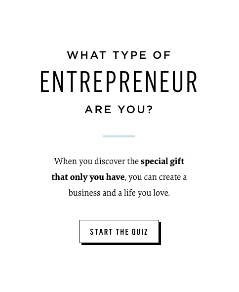 What type of entrepreneur are you? quiz cover