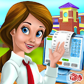 Preschool Cafe Cashier Girl:Cash Register Games