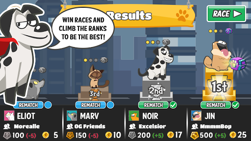 Pets Race - Fun Multiplayer PvP Online Racing Game 1.1.17 screenshots 5