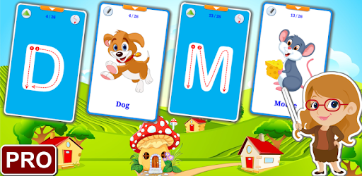ABC Flashcards for Kids V2 PRO Appar för Android screenshot