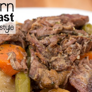 Southern Pot Roast {Slow Cooker Style}.