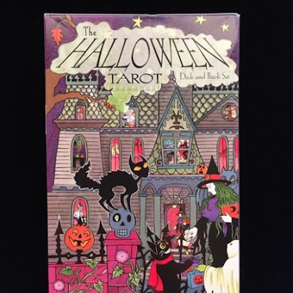 The Halloween Tarot Deck and Book Set
