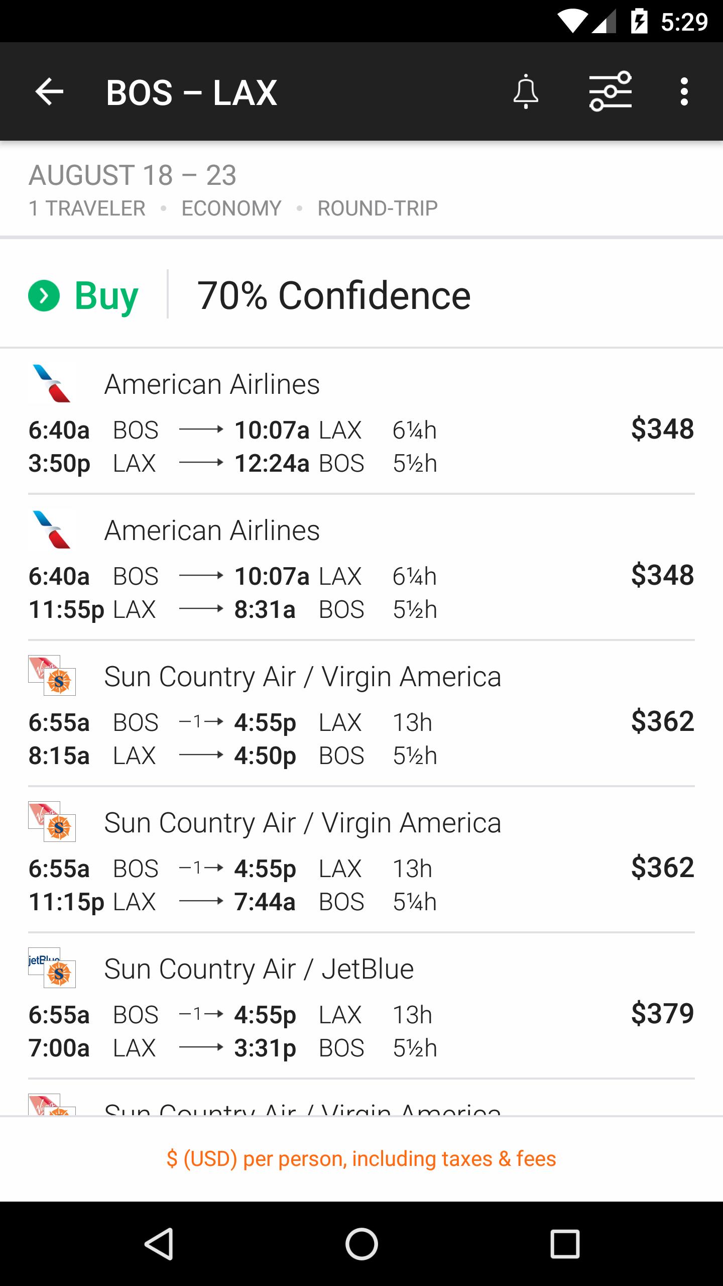 KAYAK Flights, Hotels & Cars screenshot #2