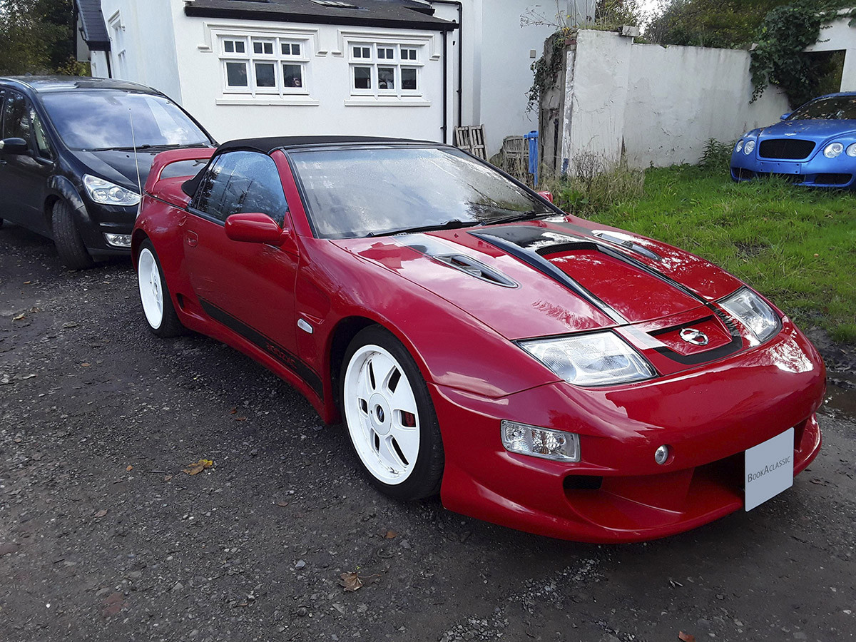 Nissan  300zx Convertible Hire Rochdale