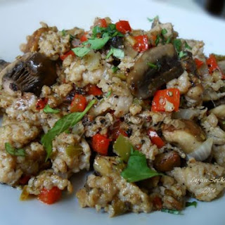 Low Carb Sausage And Mushroom Hash