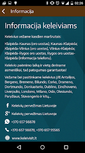 Klaipėda-Vilnius: KeleivisLT - náhled
