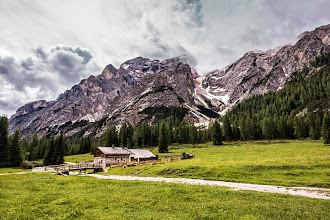 Photo: Malga Foresta on Trail 19 in Valle di Braies, Dolomiti, Italy | http://blog.kait.us/2014/06/hiking-dolomites.html