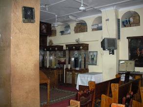 """Photo: Die koptische """"Sankt Shenouda Vater der Eremiten - Kirche"""" im Stadtteil El Dahar (Downtown) wurde im Jahre 1922 im britischen Stil erbaut. Die koptisch-orthodoxe Kirchengemeinschaft wurde der Überlieferung nach im 1. Jahrhundert durch den Evangelisten Johannes Markus, der sich zeitweise in Ägypten aufhielt und 68 n. Chr. in Alexandria als Märtyrer starb, gegründet."""