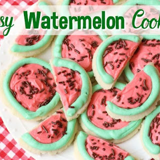 EASY WATERMELON SUGAR COOKIES