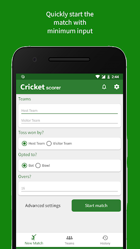 Cricket Scorer 2.7.0 screenshots 1
