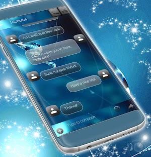 Vodní 3D SMS Téma - náhled