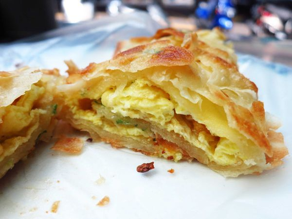 上海蛋餅豆漿大王-手工蛋餅界中的燒餅?