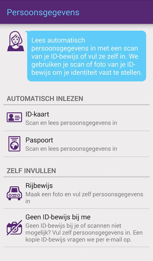 SNS Mobiel Bankieren - screenshot