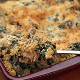Martha Stewart's Chicken and Kale Casserole.