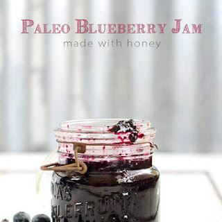 Paleo Blueberry Jam with Honey