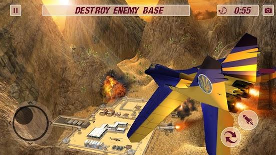 Airforce Pilot Airplane Training Simulator Game - náhled