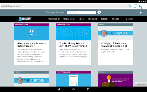 Ghostery Privacy Browser Screenshot 9