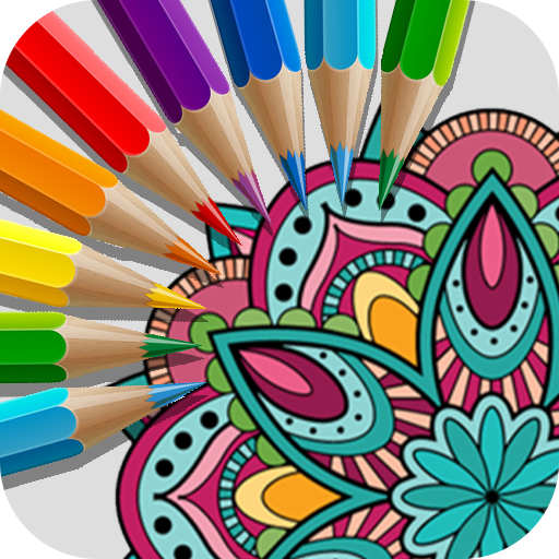 Mandala Coloring Book Free Coloring Book Game Google Play De