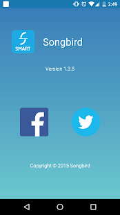 Songbird Smart- screenshot thumbnail