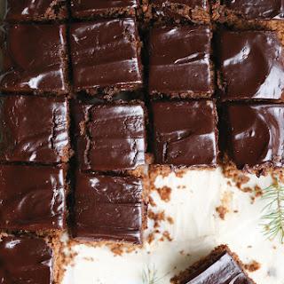 Gingerbread Brownies.