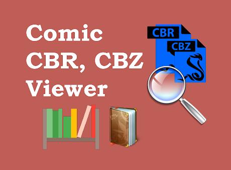 Comic CBR, CBZ Viewer