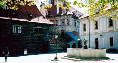 Photo: Tsjechië. Cesky Krumlov. Burcht bezoek.